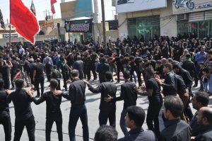 اجتماع بزرگ عاشورایی در رودان برگزار شد +تصویر