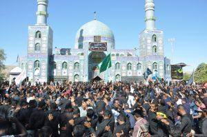 وزش نسیم حزن رضوی در جوار بارگاه امامزاده سید سلطان محمد(ع) رودان +تصویر