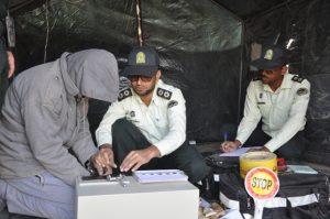 مانور آمادگی ستاد مدیریت بحران در رودان برگزار شد+تصویر