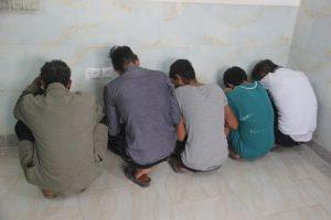 دستگیری باند سرقت از خودرو،منازل و موتورسیکلت در رودان +تصویر