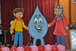 جشنواره فراگیر اولین واژه «آب» برای دانش آموزان رودان برگزار شد+تصویر