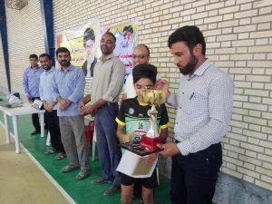 پایان مسابقات والیبال حلقات صالحین بسیج ورزشکاران رودان/تیم شهید بابایی قهرمان شد