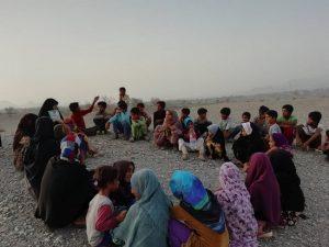 اردوی گروه جهادی بسیج دانشجویی در روستای آبگرمان رودان+تصاویر