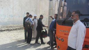 اعزام سرگروه های بسیج دانش آموزی رودان به استان فارس+تصاویر