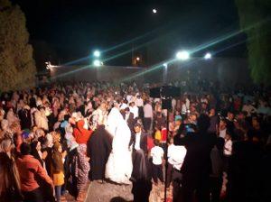 به مناسبت عیدغدیر پنج زوج روستای کمیز رودان راهی خانه بخت شدند+تصویر