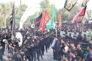 گزارش تصویری/برپایی دسته جات عزاداری عاشورای حسینی در رودان