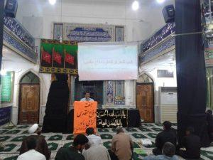 برگزاری شب شعر و خاطره به مناسبت هفته دفاع مقدس در مسجدحضرت ابوالفضل(ع) رودان +تصاویر