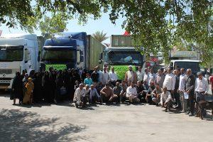 ارسال کمک های مردم رودان به برپایی دوموکب اربعین در کربلا و سامرا+عکس
