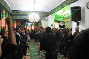 مراسم اربعین حسینی در امامزاده شاه قطب الدین حیدر(ع) رودان برگزار شد+تصاویر
