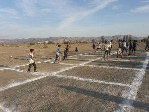 برگزاری مسابقات بومی محلی به مناسبت هفته بسیج