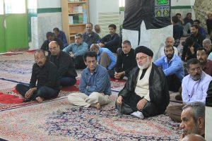 مراسم عزاداری رحلت جانسوز  پیامبر اکرم (ص) و شهادت امام حسن مجتبی (ع) در رودان برگزار شد+عکس