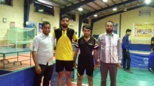 برگزاری مسابقات تنیس روی میز بسیج ورزشکاران هرمزگان/رودان قهرمان شد
