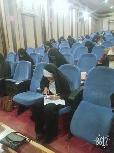 آزمون سراسری حفظ و مفاهیم قرآن کریم در رودان برگزار شد+عکس