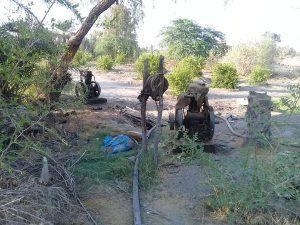 مسئولان با وعده ایجاد آبیاری قطرهای، چاهها را پلمپ کردند/کشاورزان جغینی به کارگران فصلی تبدیل شدند