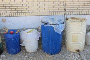 کشف بیش از ۲۰۰۰ لیتر مشروبات الکلی دست ساز در رودان