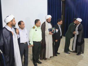 تکریم و معارفه مسئول دفتر نمایندگی ولی فقیه در سپاه رودان