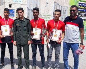 کسب سه مدال طلا در یک رشته/بسیجیان رودانی قهرمان مسابقات دومیدانی کشور شدند