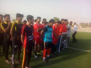 افتتاح طرح جوانه های صالحین با آغاز مسابقات فوتسال/ اولین دوره لیگ فوتسال پایگاه های بسیج در رودان آغاز شد+عکس