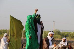نمایش بازسازی واقعه غدیرخم در روستای اسلام آباد رودان برگزار شد+عکس