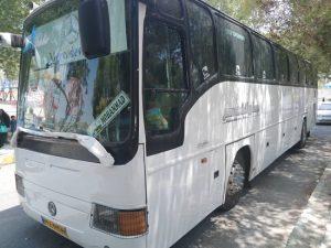 بسیجیان پایگاه مسجدحضرت ابوالفضل(ع) رودان،رایگان به مشهدمقدس اعزام شدند+عکس
