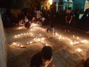 طلوع حقیقت با غمگینترین غروب جهان/مراسم شام غریبان در رودان برگزار شد+عکس
