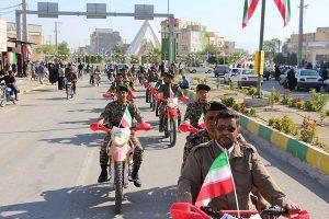 رژه موتورسواران رودانی در ۱۲بهمن،سالروز ورود امام (ره)به میهن اسلامی+تصاویر