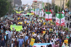راهپیمایی ۲۲ بهمن جلوه با شکوه مردم رودان در بیعت با آرمان های انقلاب