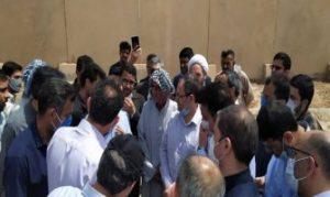 حضوربرخی نمایندگان مجلس یازدهم در بخش غیزانیه +تصاویر