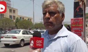 لحظه با خبرشدن رحلت جانسوز امام خمینی(ه) از بیان مردم رودان+فیلم