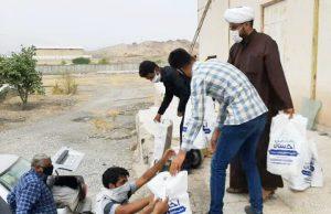 دوهزار و ۵۰۰ بسته معیشتی بین نیازمندان رودانی توزیع شد