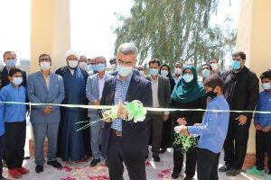 دبستان ۶ کلاسه خیرساز مهر عظام بیکاه رودان افتتاح شد