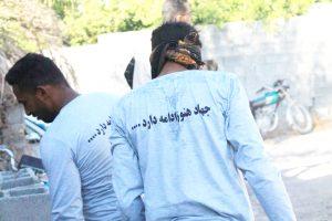 آغاز ساخت پنجمین واحد مسکونی در دهستان برنطین به همت گروه جهادی شهید سلیمانی رودان