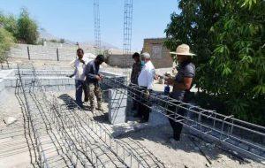 ساخت منزل مسکونی توسط گروه جهادی قمر بنی هاشم(ع) برای خانواده نیازمند رودانی