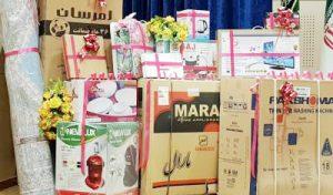اهداء بیش از ۲۳۰ سری جهیزیه بین نوعروسان رودانی
