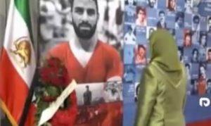 فیلم/ ادای احترام قاتل هزاران ایرانی به نوید افکاری!