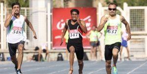 درخشش دونده رودانی در لیگ دوومیدانی کشور
