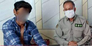 حمله خرس سیاه به شهروند رودانی