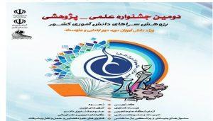 راه یابی ۱۰ثربرگزیده دانش آموزان رودانی به مرحله کشوری دومین جشنواره علمی، پژوهشی پژوهشسراهای دانش آموزی