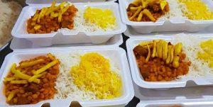 پخت و توزیع ۱۲هزار پرس غذای گرم به همت بسیج دانشجویی رودان