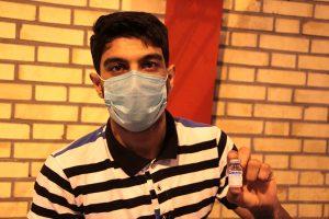 تزریق بیش از ۵۶ هزار دوز واکسن کرونا برای گروههای هدف رودان