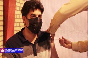 فیلم| واکسیناسیون مردم رودان علیه کرونا