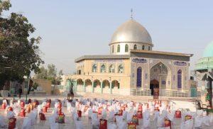 توزیع بیش از ۳۰۰بسته معیشتی در طرح «شمیم حسینی» رودان