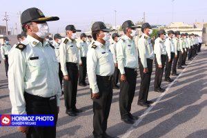 صبحگاه مشترک نیروهای مسلح در رودان برگزار شد+عکس